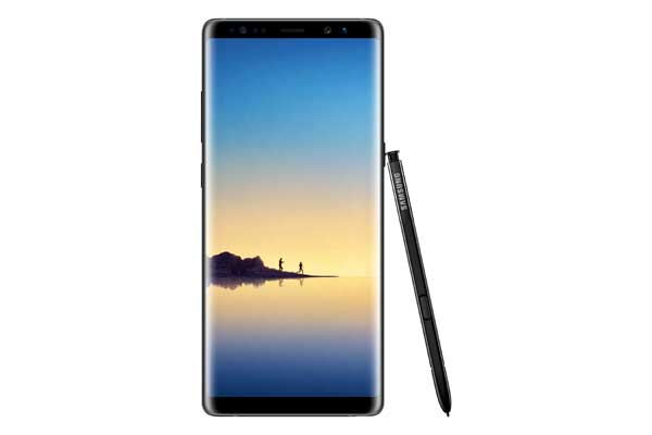 Samsung Galaxy Note8 – Midnight Black