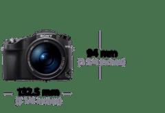 Sony RX10 IV: Dimensions