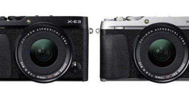Fujifilm X-E3 (left to right): black and silver