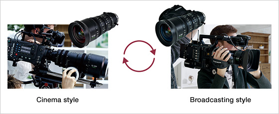 The addition of a drive unit made the 4K lens a success in the broadcast environment: Images Courtesy of Fujifilm