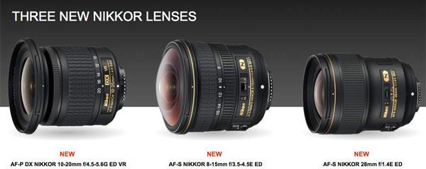 Nikon: New NIKKOR Lenses