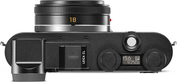 Leica CL, top view