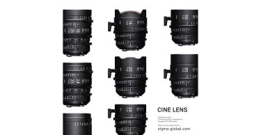SIGMA's new line of SIGMA CINE LENS