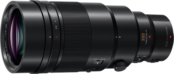 LEICA DG ELMARIT 200mm F2.8 Power O.I.S. with 2.0x Teleconverter DMWTC20