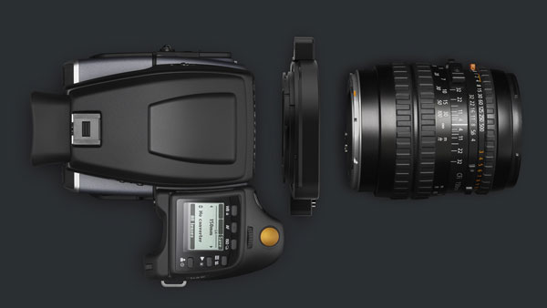 Hasselblad H6D, top view