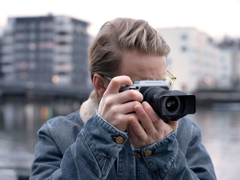 Hasselblad: XPan Lens Adapter with Hasselblad X1D Camera