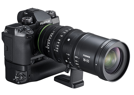 Fujifilm X-H1 with FUJINON MKX18-55mmT2.9