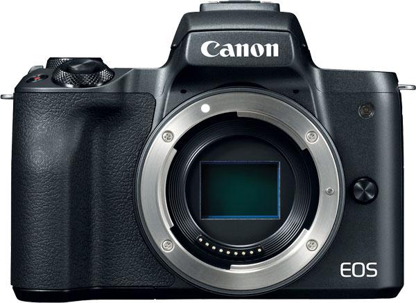 Canon EOS M50, black