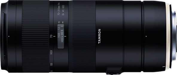 Tamron 70-210mm F/4 Di VC USD (Model A034) in Canon mount