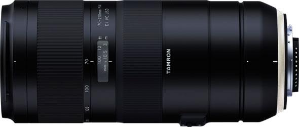 Tamron 70-210mm F/4 Di VC USD (Model A034) in Nikon mount