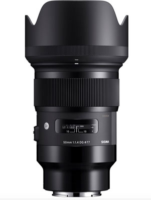 Sigma 50mm F1.4 DG HSM | A for Sony E Mount
