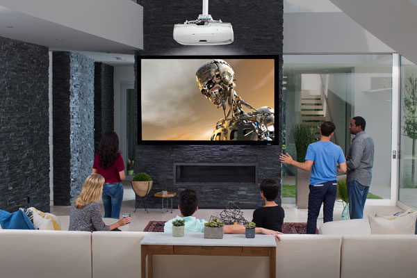 Epson Home Cinema 4000 3LCD Projector with 4K Enhancement and HDR: Image Courtesy of Epson