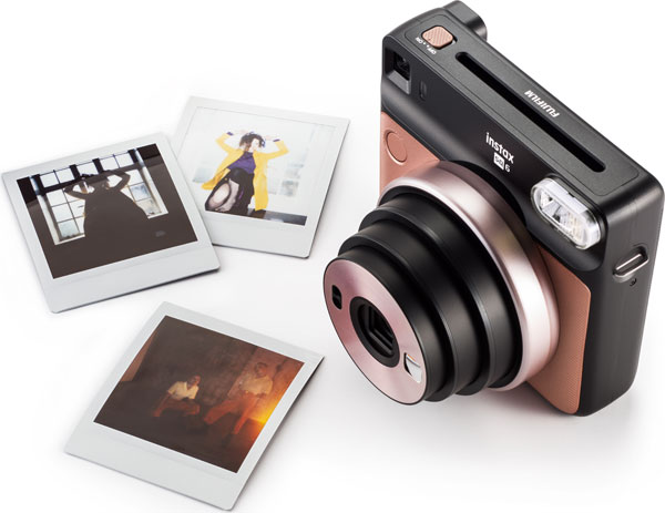 Fujifilm Instax® SQUARE SQ6: Blush Gold; Images Courtesy of Fujifilm