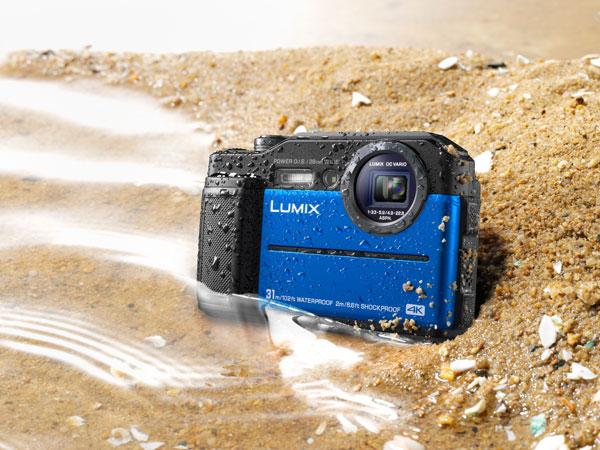 Panasonic LUMIX DC-TS7, blue
