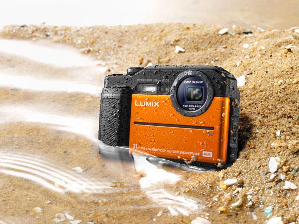Panasonic LUMIX DC-TS7, orange