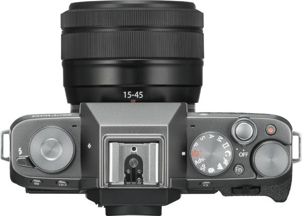 FUJIFILM X-T100, Dark Silver, as a kit with the FUJINON XC15-45mmF3.5-5.6 OIS PZ