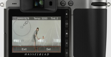 Hasselblad X1D and H6D: White Balance allows the photographer to set the colour temperature and tint directly on a photograph when shooting