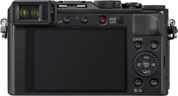 Panasonic Lumix LX100 II Back View