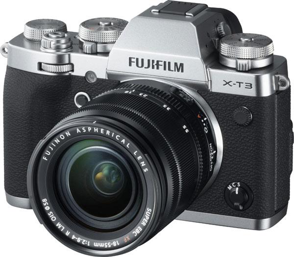 Fujifilm X-T3, silver