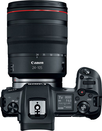 Canon EOS R with RF 24–105mm F4 L IS USM