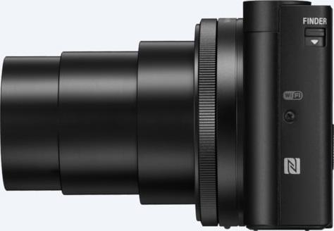 Sony Cyber-shot HX99: left-side view