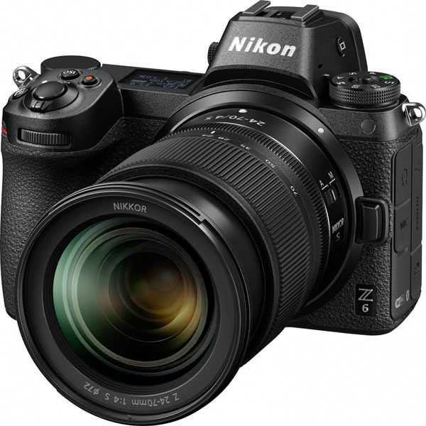 Nikon Z 6 with NIKKOR Z 24-70mm f/4 S
