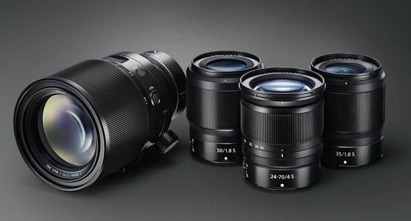 NIKKOR Z lenses for Nikon's mirrorless cameras