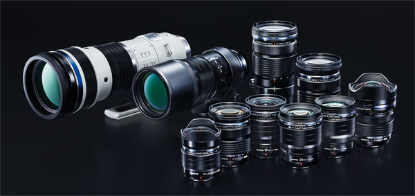 Olympus Pro Lens Lineup
