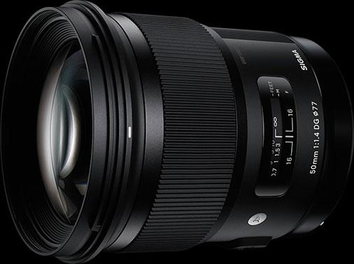 SIGMA 50mm F1.4 DG HSM | Art