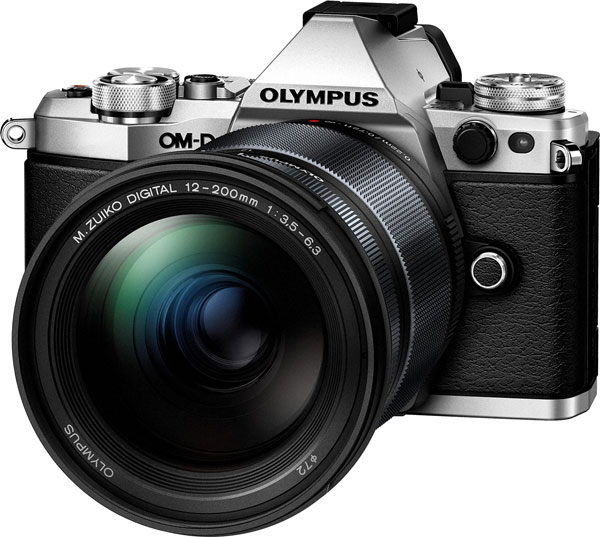 OM-D E-M5 Mark II Camera with Olympus M.Zuiko Digital ED 12-200mm F3.5-6.3 Lens