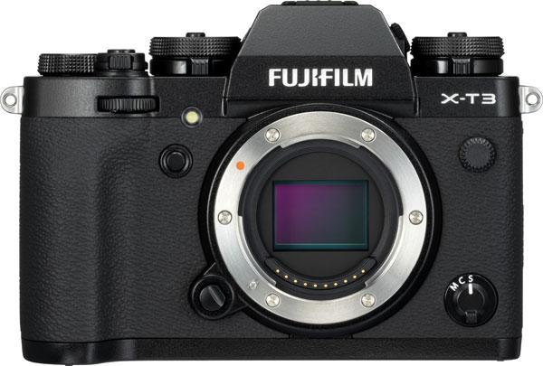 FUJIFILM X-T3, black