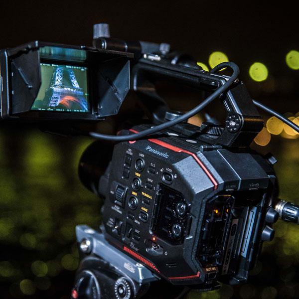 Panasonic AU-EVA1: Photo by Photo by Julien Geay