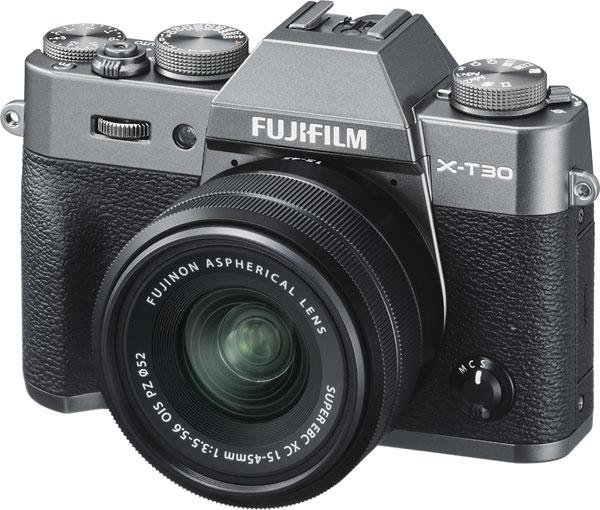 FUJIFILM X-T30, Charcoal Silver