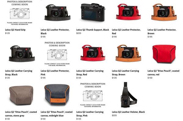 Leica Q2: Optional accessories
