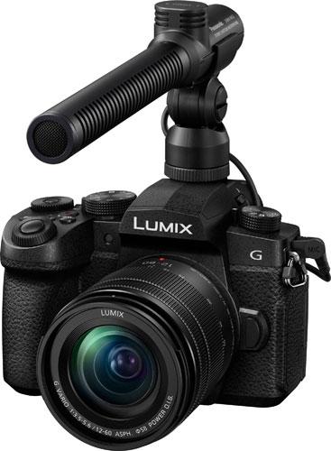 Panasonic Lumix G95 with microphone