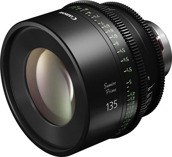Canon Sumire Prime CN-E135mm T2.2 FP X