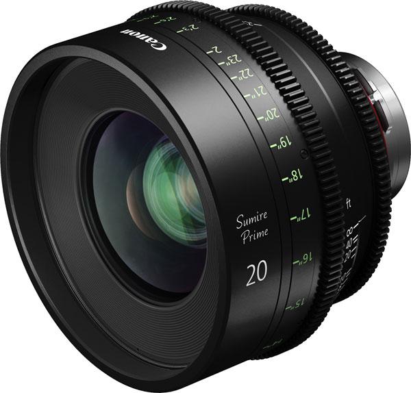 Canon Sumire Prime CN-E20mm T1.5 FP X