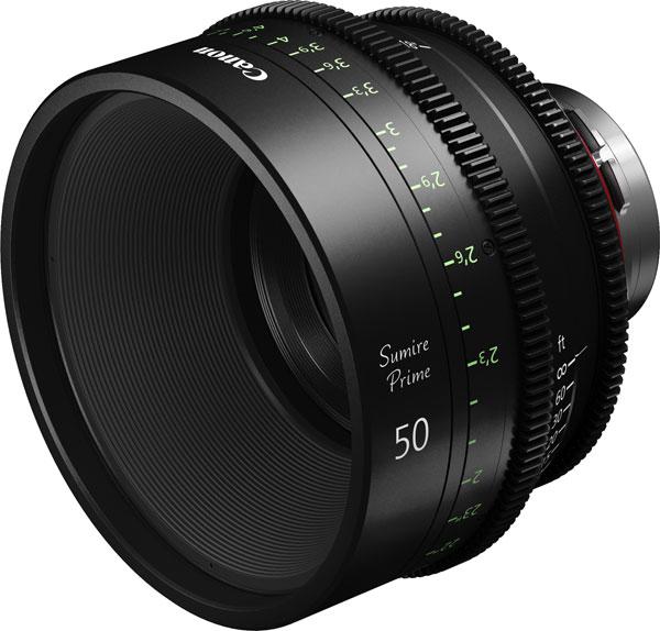 Canon Sumire Prime CN-E50mm T1.3 FP X