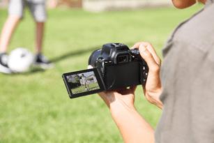 Canon EOS Rebel SL3, Black: Image Courtesy of Canon