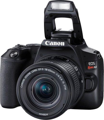 Canon EOS Rebel SL3, Black: Flash