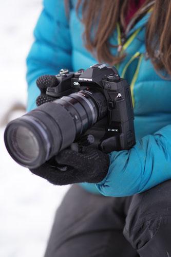 M.Zuiko Digital ED 40-150mm F2.8 PRO Lens with M.Zuiko Digital 2x Teleconverter MC-20 and OM-D E-M1X Camera: Image Courtesy of Olympus