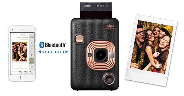 Fujifilm INSTAX MINI LIPLAY, Elegant Black: Images Courtesy of Fujifilm