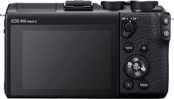 Canon M6 II Back View