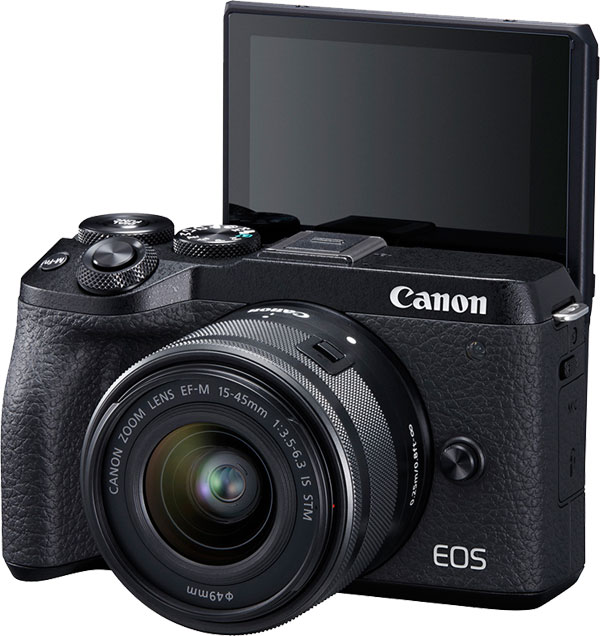 EOS M6 Mark II Mirrorless with EF-M 15-45mm f/3.5-6.3 IS STM lens