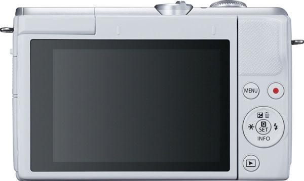 Canon EOS M200 Mirrorless Camera (White)