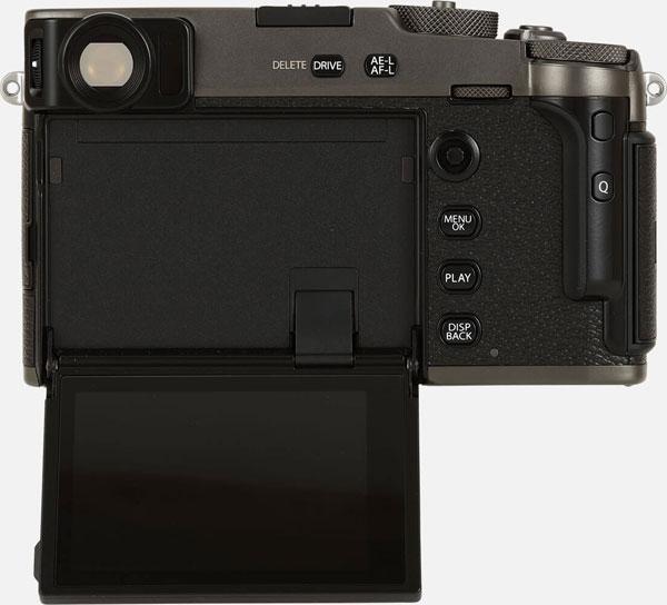 Fujifilm X-Pro3 (DR Black): 180-Degree Tilting Touchscreen