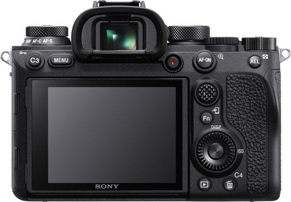 Sony Alpha 9 II (Back View)