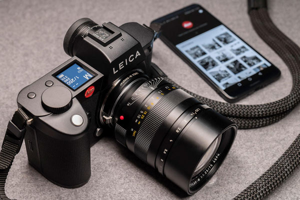 Leica SL2, with Leica M-Adapter, is supported by Leica FOTOS App: With new features and an enhanced mobile experience with an iPad, Leica FOTOS will be available in version 2.0 from November 21, 2019