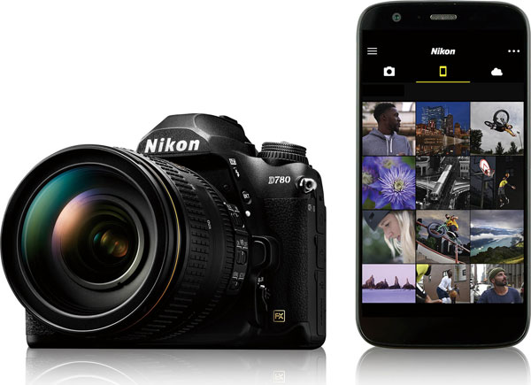 Nikon D780: SnapBridge app