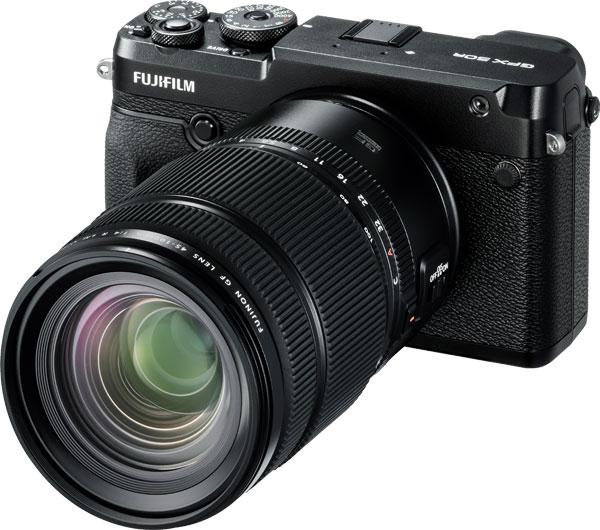 Fujifilm GFX 50R with the FUJINON GF45-100mmF4 R LM OIS WR lens